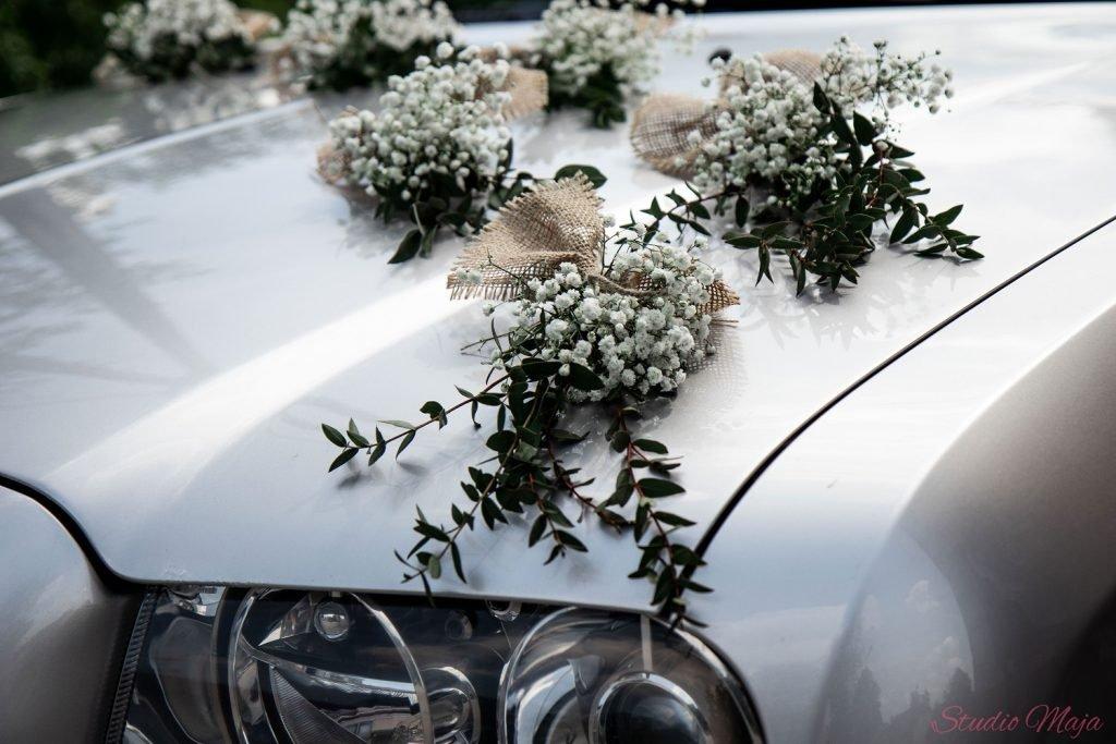 dekoracja samochodu Bielsko-Biała